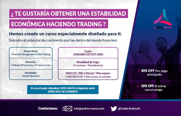 Curso: Financial Management & Risk Trading con Andrea Novoa Enterprise