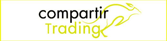 Compartir Trading logo banner aus