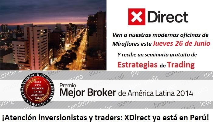 Seminario Presencial: Invirtiendo en Commodities, Indices y FX / Ingreso Libre